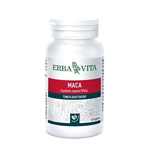 Erba Vita Integratore Alimentare di Maca - 60 Capsule