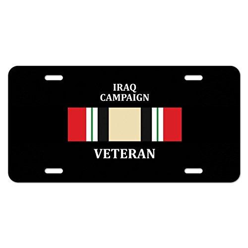 Marine Corps USMC Irak Kampagne Veteran Band Offizielles Lizenzprodukt Neuheit Metall Vanity Tag License Plate (Marine Corps Nummernschild)