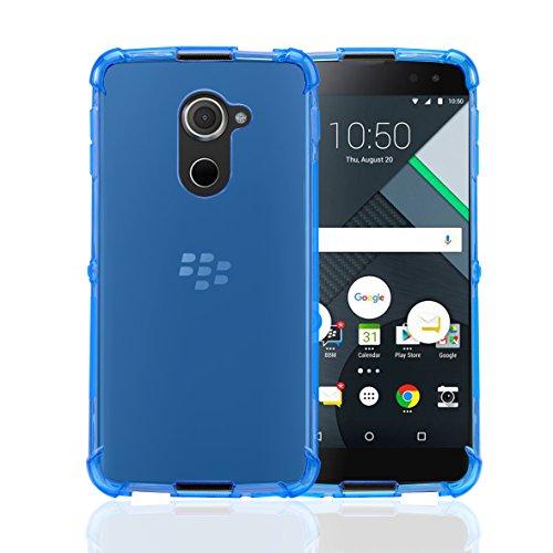 32nd BlackBerry DTEK60 Fall, Zäh Gel Silikon Hülle - Blau