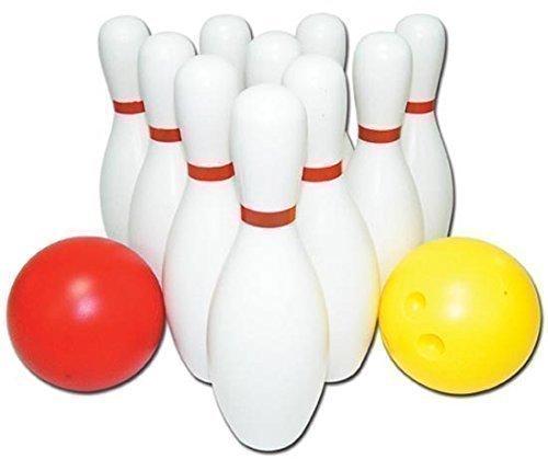 Bowling Set mini für Kinder 10 Kegel 2 Kugeln Kinderbowling Kegeln