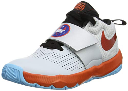 Nike Baby Jungen Team Hustle D 8 Sd Basketballschuhe, Mehrfarbig (Pure Platinum Orange/Black 001), 38 EU