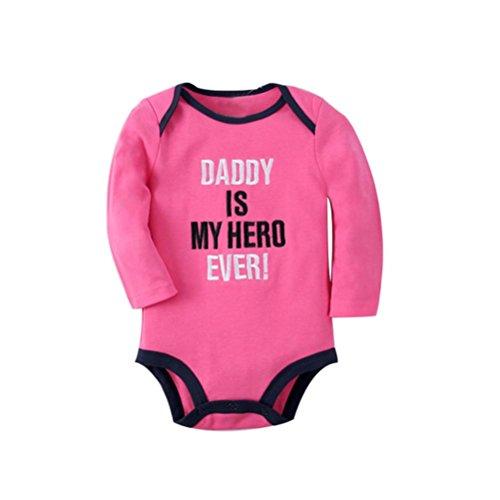 Culater® Neonato vestiti infantili delle ragazze dei ragazzi di stampa