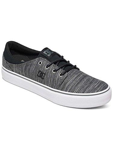 DC Trase TX Se M Shoe LGR, Sneakers da Uomo Multi-Couleurs - Black/Grey/Grey