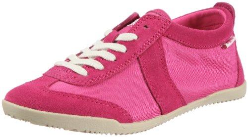 Buffalo 5420-V159 TEXTILE SUEDE 128108 Damen Sneaker Pink (FUSCHIA 01)