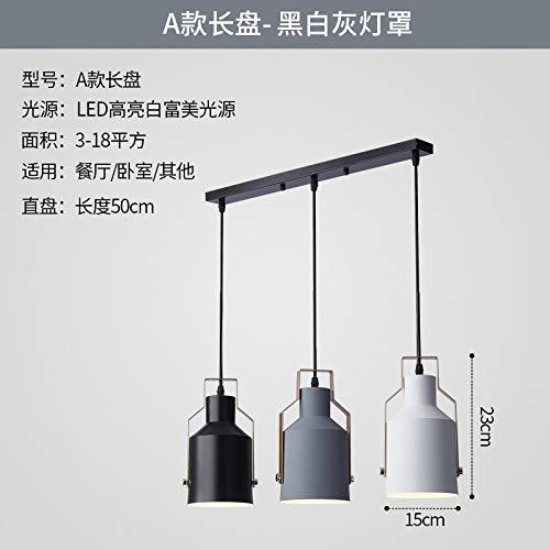 Tavola della personalità sala da pranzo balcone bar lampada da tavolo illuminazione Un lungo piatto luce calda