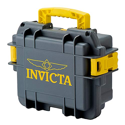 £39.95 Hot Invicta Watch Box DC3GREY/YEL