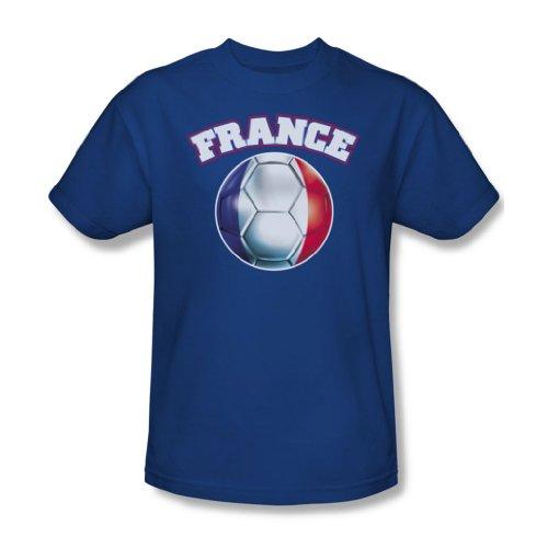 France-Maglietta da uomo, colore: blu Blu