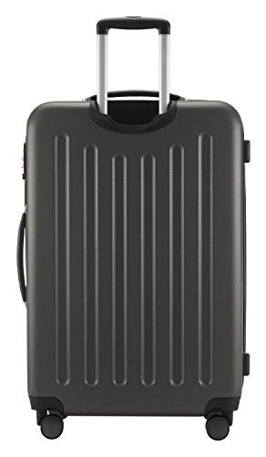 HAUPTSTADTKOFFER® Hartschalen Koffer SPREE 1203 · 128 Liter · MATT · TSA Zahlenschloss · + GEPÄCKGURT (Graphit) - 5