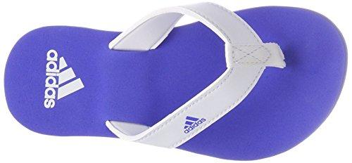 Foot Thong (adidas Unisex-Kinder Beach Thong 2 Aqua Schuhe, Mehrfarbig (Ftwwht/Hirblu/Ftwwht Cp9378), 33 EU)