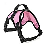 Segle Hundegeschirr, weich, gepolstert, verstellbar, kein Ziehen, hilft beim Laufen, Brustgeschirr, Größe S, M, L, XL, XXL