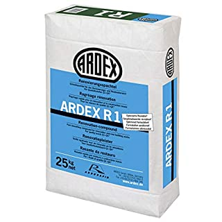 ARDEX R1 Renovierungsspachtel 25kg mit ARDURAPID-EFFEKT. Enthält Zement. Zum Glätten und Spachteln von Wand- und Deckenflächen im Renovierungs- und Neubaubereich.