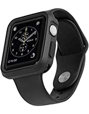 AT&T Rugged Bumper Case for Apple Watch (Black)(AWRB-38)