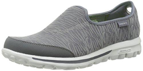 Skechers Go Walk - Upstage, Sneaker basse donna Charcoal