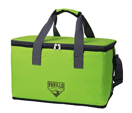 Vian lundgaard pavillotm quellor 25l cooler bag borsa frigo, 26x 42x 26cm, colore: verde