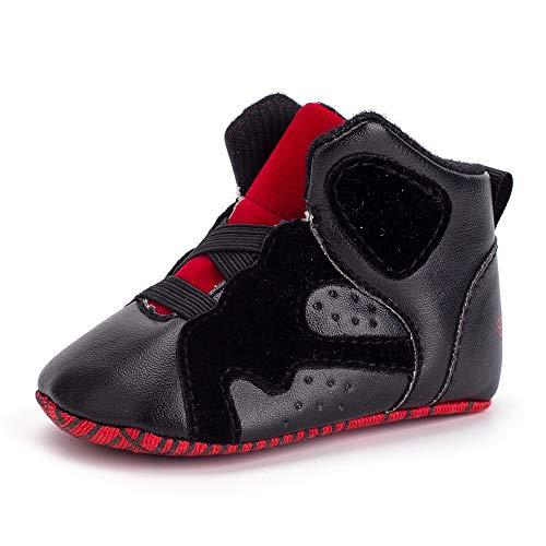 Xinantime Sneakers Enfant Baskets Chaussure, Nouveau-né Bébé Bambin Basket-Ball Géométrique Souple Chaussures Occasionnelles