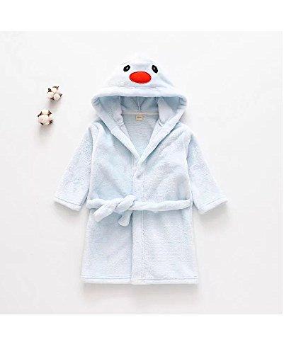 Matissa Kinder Robe Bademantel Tier Kapuzen Handtuch Robe Nachtwäsche Cosplay Kinder Kostüme ()