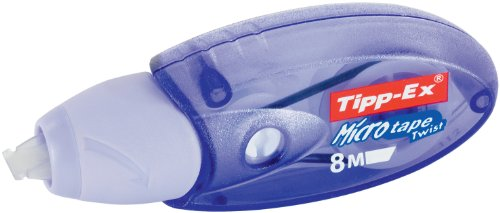 BIC Corrección Roller Tipp-Ex  Micro Tape Twist, 8 m x 5 mm, color lila