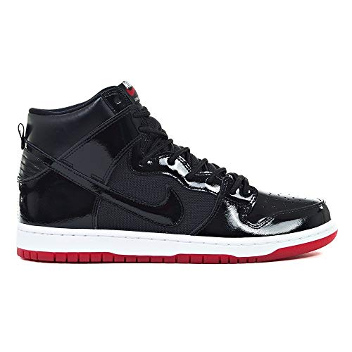 Nike Herren SB Zoom Dunk HIGH TR QS Fitnessschuhe, Mehrfarbig Black-White-Varsity RED 001, 42 2/3 EU -