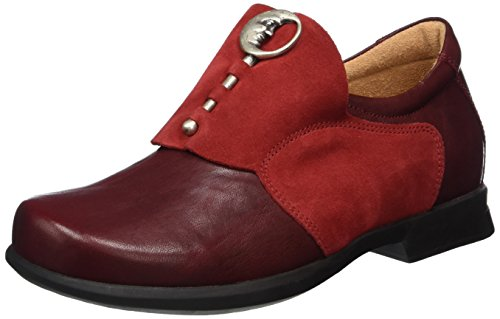 Think Damen Pensa Slipper, Rot (Rosso 70), 42 EU