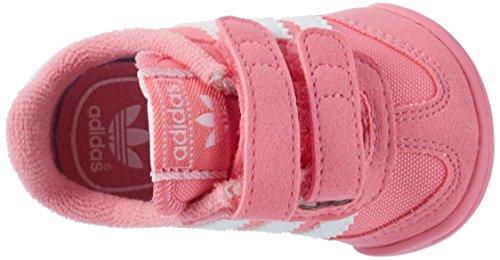 adidas Dragon L2w Crib, Scarpe da Ginnastica Basse Unisex – Bambini, XX Rosa (Easy Pink/ftwr White/easy Pink)