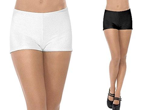 Kostüm Haloween Hot - Smiffys Kostüm Zubehör Hot Pants Hotpants Karneval Fasching Party schwarz