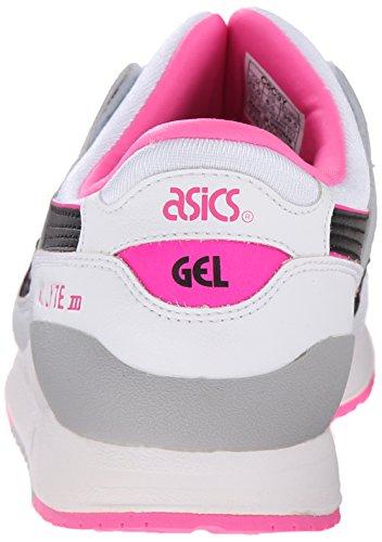 Asics Gel Lyte III Gs Synthetik Turnschuhe White/Black