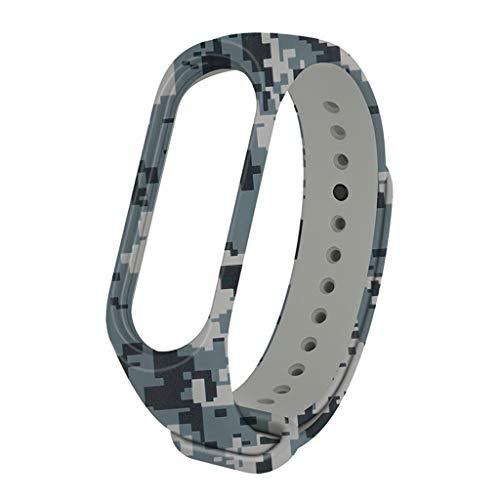 Gürtel Von My Band 4, Webla, Sportarmband, Silikonband, Ersatzband, Armband Für Xiaomi Mi Band 4/3, Silikon F (F)