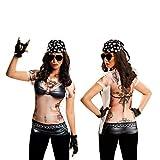 Yijja Fast Fun - Hellgirl, camiseta de manga corta para adultos, talla L (Charm Kingdom YJ00026)