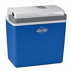 Ezetil 770620 Mirabelle E24 Thermoelektrische Kühlbox 12V, Blau/Weiß