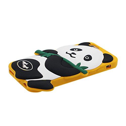 """iPhone 6S Handyhülle, Cover iPhone 6 Hülle (4.7""""), [3D Cartoon Katze Stripe] Gel-Shell TPU flexibles Shell iPhone 6S case (4.7"""") Staub Kratzer beständig und Ring Ständer für Handy # 1"""