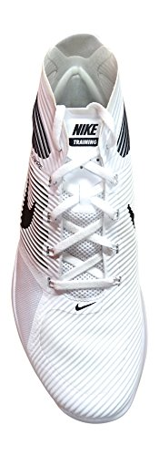 Nike  Free Train Instinct, Sneakers homme Blanc Cassé - Blanco (White / Black)