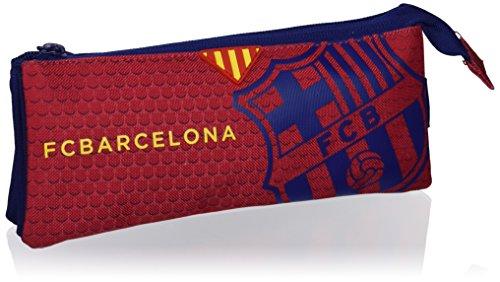F.C Barcelona – Portatodo triple, color azul / granito (Safta 811572706)