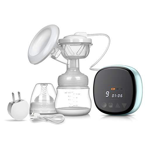 Tire-lait Electrique Pompe, d'allaitement Mains Libres Pompe de Sein Automatique Silencieux Massage Postpartum Prolactine Rechargeable USB 3 Modes 9 vitesses