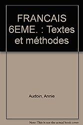 Du côté des lettres, 6e, français, textes et méthodes, programme 1996