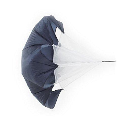 WINGONEER 40 Inch Running Chute Fallschirm Parachute Schwarz (Chute Running)