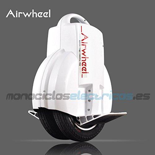 AIRWHEEL Q3, monoruota eléctrico autobilanciante Hombre, Blanco, 51.8x 40.8x 20cm