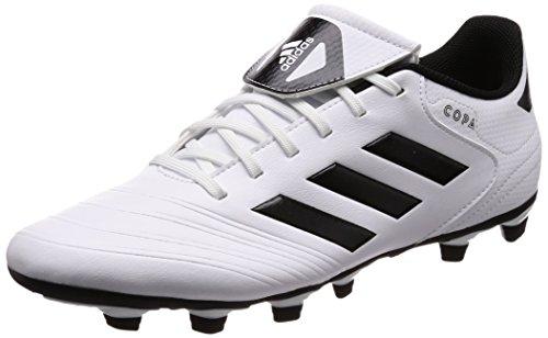 18.4 (adidas Herren Copa 18.4 FxG Fußballschuhe, Weiß (Footwear White/Core Black/Tactile Gold Metallic), 46 EU)