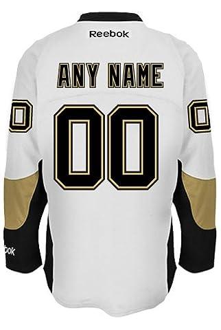 Pittsburgh Penguins Away officielle Reebok NHL hockey Jersey–n'importe quel nom/numéro personnalisée., Enfant