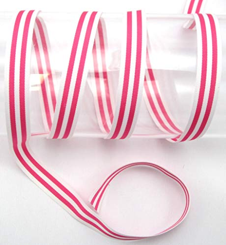 EMS Streifenband, Ripsband, Hosen, 15mm, nähen, Meterware, 1 Meter (pink)