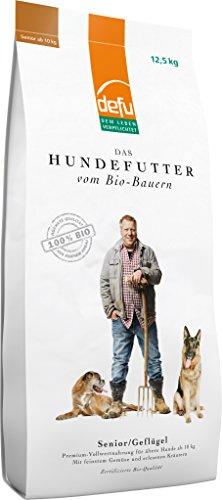 defu Bio Tierfutter für ältere Hunde 12.5kg, 1er Pack (1 x 12.5 kg)