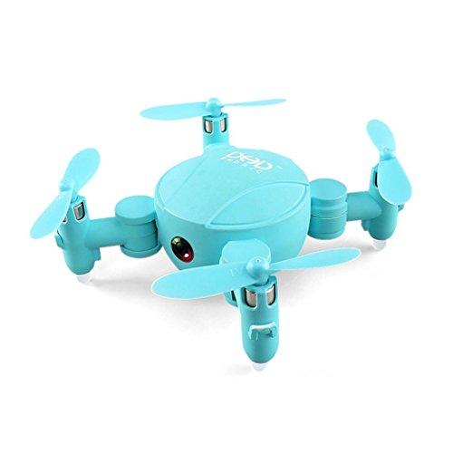 QUINTRA Mini Wifi 720P Kamera Drone RC Quadcopter 2.4GHz 4CH 6-Achsen Gyro 3D UFO FPV RC Blau
