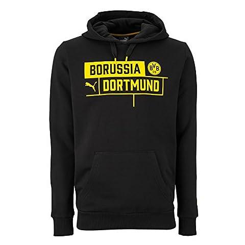 Puma BVB 09Borussia Dortmund Borussia Hoody, noir