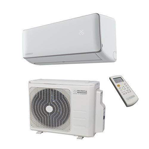 Olimpia Splendid OS-C/SEACH09EI Climatizzatore Fisso e Connect, Bianco, 95.7 x 21.3 x 30.2 cm