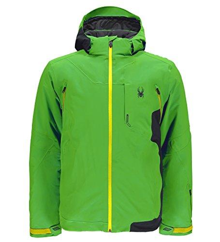 Spyder Mens Alps Jacket Skijacke (fsh/bce/byl), XL