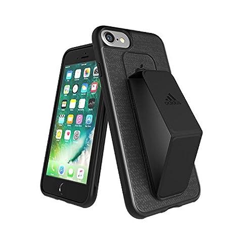adidas Running - Grip Case iPhone 7 Black - Handyhülle iPhone 7 / Smartphone Hülle iPhone 7 - Handy Case, TPU Schutzhülle für Jogging, Fitness & Sport usw.