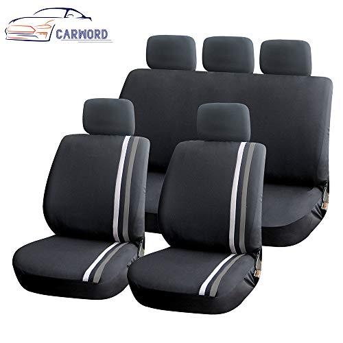 Classic Autositzbezüge Set/Kfz-Zubehör Interieur/Universal-Autositzschutz Set/für Fahrer und Beifahrer (Kfz-zubehör Seat Cover-sets)