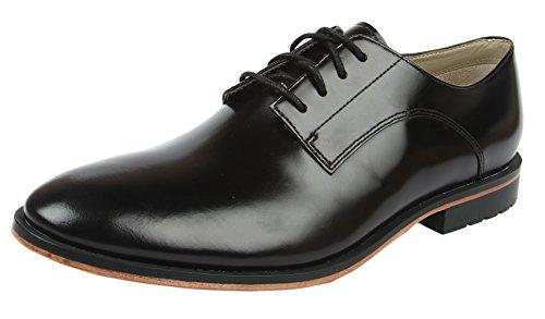 Clarks Gatley Walk, Chaussures de ville homme Noir (Black Leather)