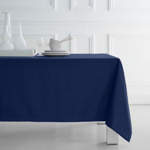 TODAY 257536 Nappe Coton Ciel d'orage/Bleu Marine 140 x 240 cm