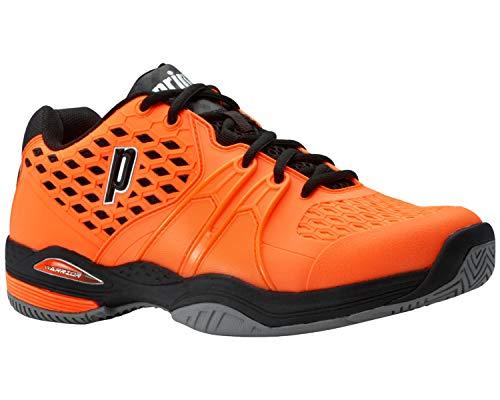 Prince Warrior, Scarpe da Tennis Uomo Colore: Arancione/Nero (all Court); Taglia: EUR 42   US 9   UK 8