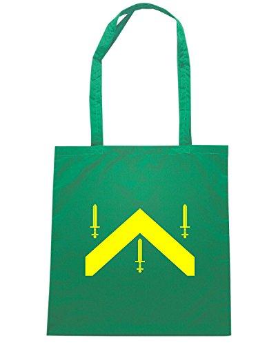 T-Shirtshock - Borsa Shopping TM0174 Campina Grande flag Verde